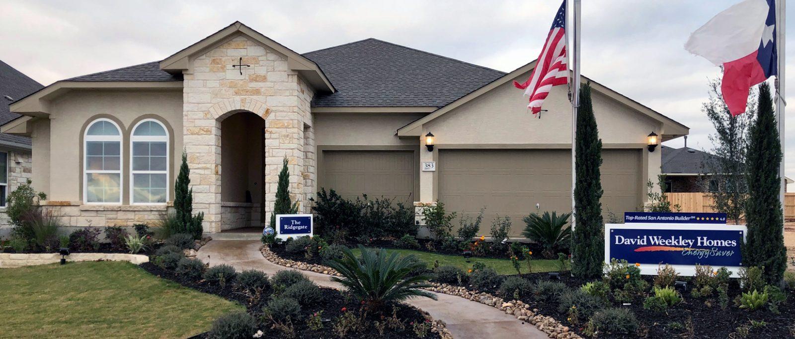 David Weekley Homes in New Braunfels, TX   Veramendi